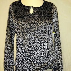 NWT Jones New York Scoop Neck Top Size PM